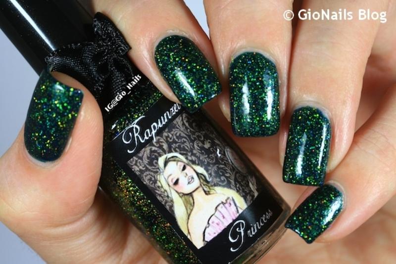 Esmaltes Da Kelly Rapunzel Swatch by Giovanna - GioNails