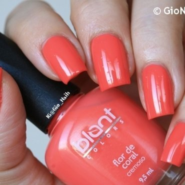 Blant Flor de Coral Swatch by Giovanna - GioNails
