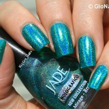 Jade mirage Swatch by Giovanna - GioNails