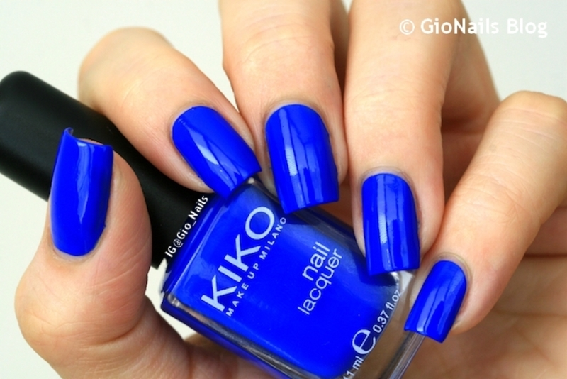 Kiko 336 Electric Blue Swatch by Giovanna - GioNails