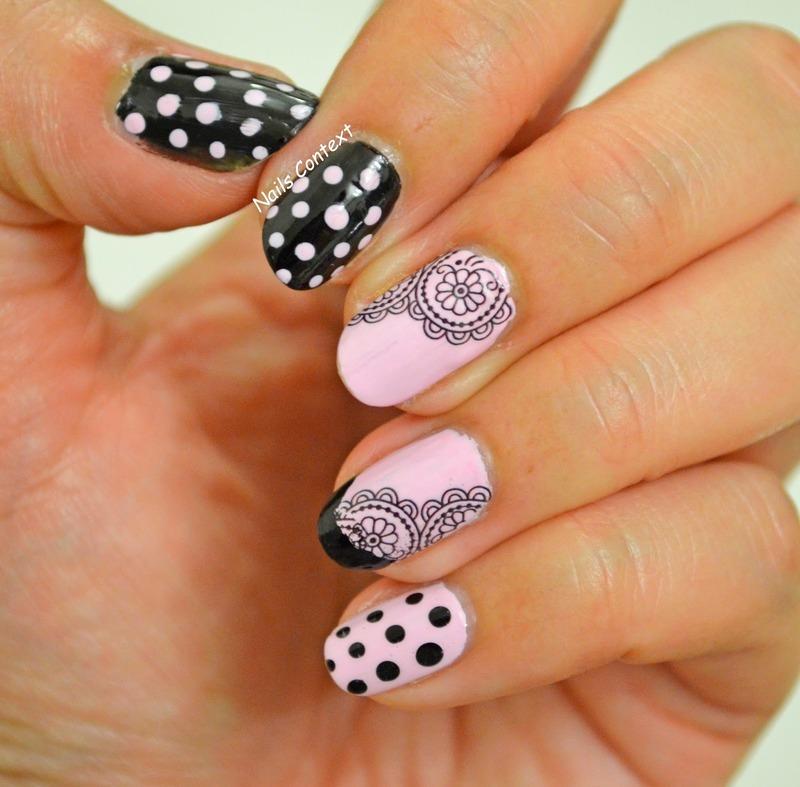 Lace Nails nail art by NailsContext