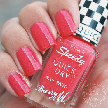 Barry M Turbo Charged Swatch by xNailsByMiri