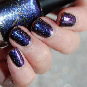 Polished By Kpt Underneath the Milky Way Swatch by Katie of Harlow & Co.