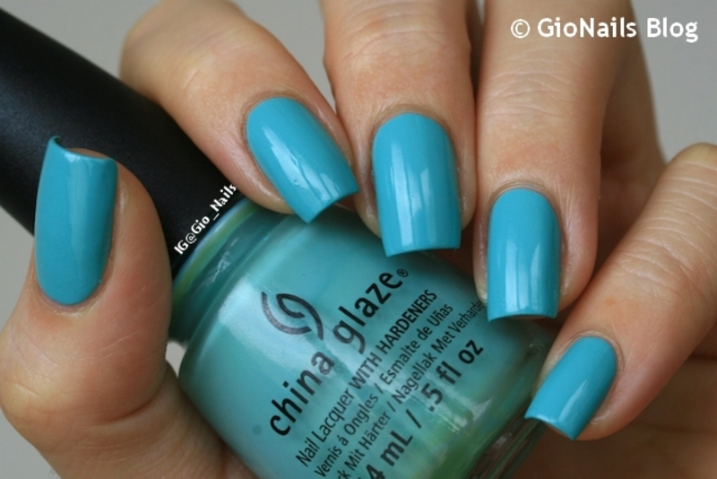 China Glaze For audrey Swatch by Giovanna - GioNails