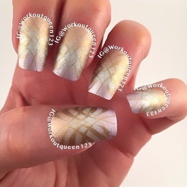 Gradient  nail art by Workoutqueen123