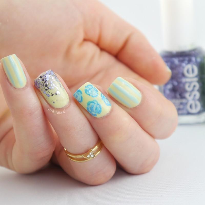 Chillato Vintage Nails nail art by Ann-Kristin