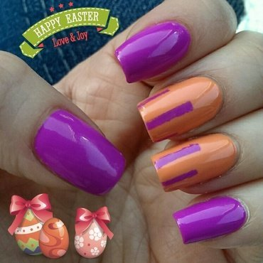 Spirit of Vacation nail art by Meltin'polish