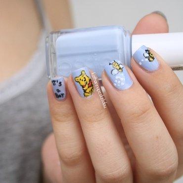 Baby Boy Nail Art (Winnie Pooh) nail art by katharinapeskelidou