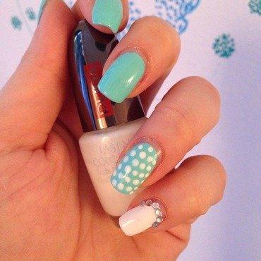 Glitter&Dots Nail Art nail art by Sara