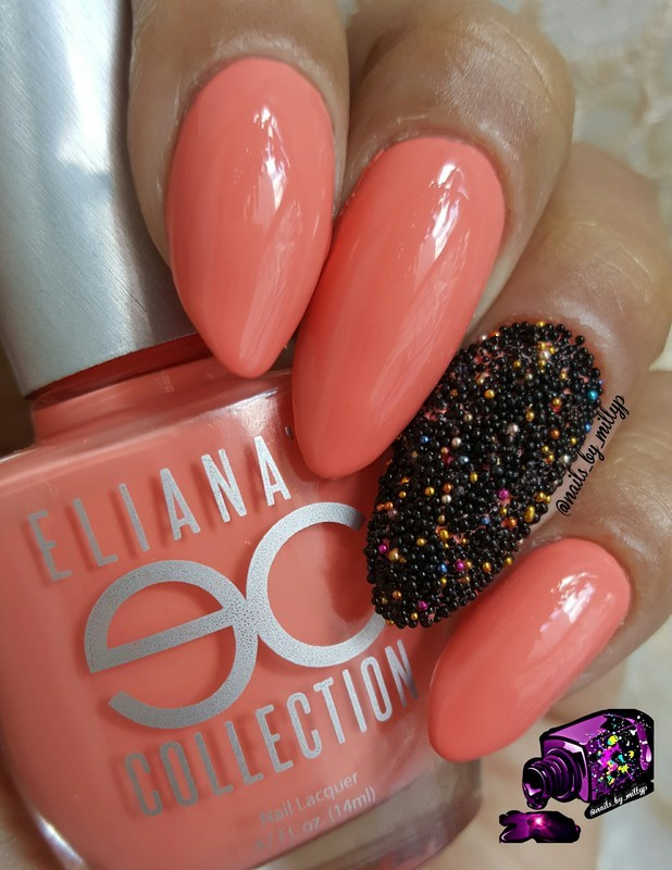My Caviar or yours? nail art by Milly Palma