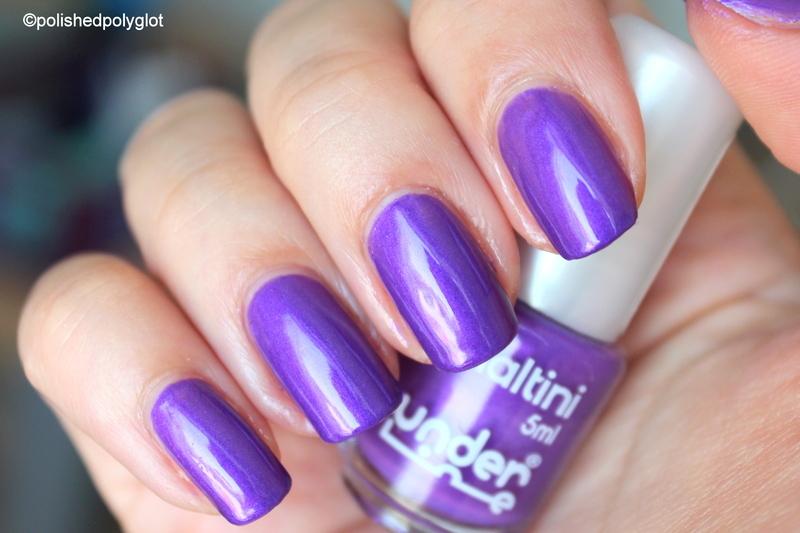 Underline purple Swatch by Polished Polyglot