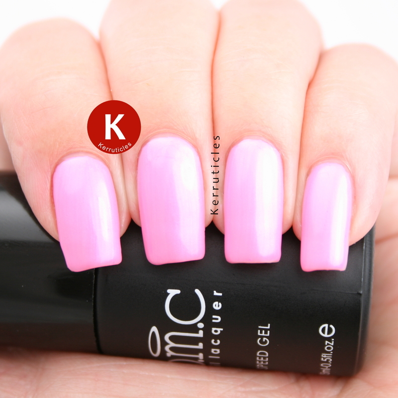 Bundle Monster Pink Wednesdays Swatch by Claire Kerr