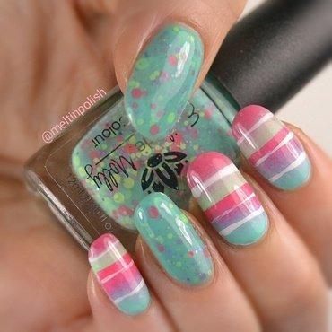 Pastel Symphony nail art by Meltin'polish