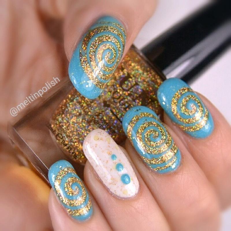 Bank Worthy nail art by Meltin'polish