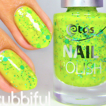 Etos Kiwi Cupcake Swatch by Cubbiful