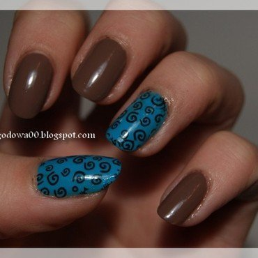 Esy-Floresy nail art by Jadwiga