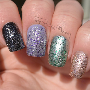 Sally Hansen Insta-Ombre Swatch by The Polished Mommy