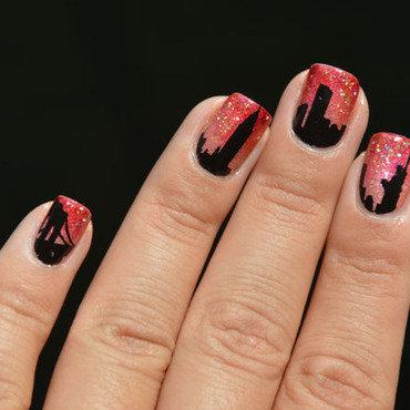 NYC - New York City nail art by Sweapee