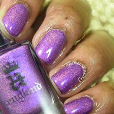 A-England Crown of Thistles Swatch by glamorousnails23