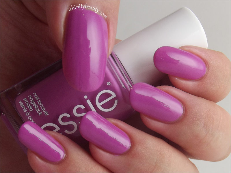 Essie Splash of Grenadine Swatch by Ithfifi Williams