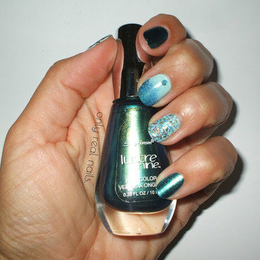Scarab nail art by only real nails.