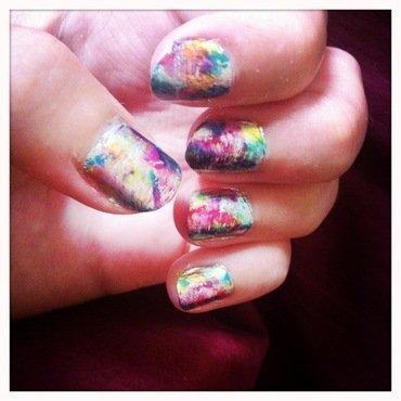 As a painter nail art by Anne-Laure BM