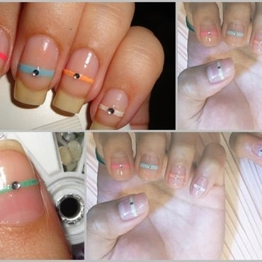Cut Out Edgy Nails nail art by Leneha Junsu