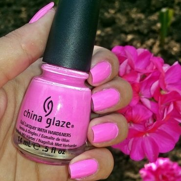 China Glaze Bottoms up Swatch by Natalia D.