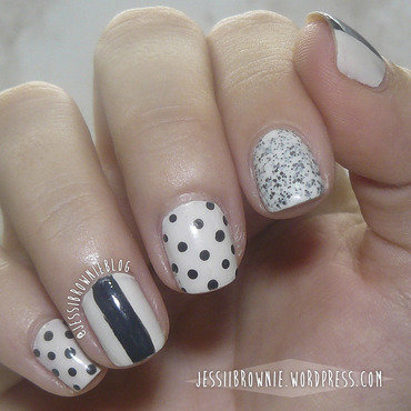 Cookie Spots nail art by Jessi Brownie (Jessi)