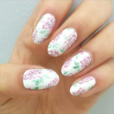 Lilac Nails nail art by Shirley X.