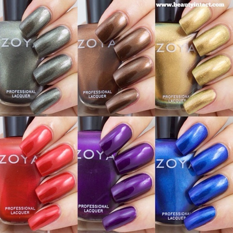 ZOYA FLAIR COLLECTION FOR FALL 2015 ZOYA FLAIR Swatch by Beauty Intact