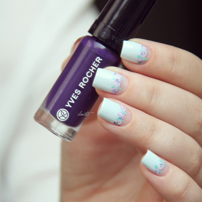 Floral Nails nail art by Linitti