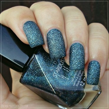 Avon Stardust Teal Glitter Swatch by Sanela