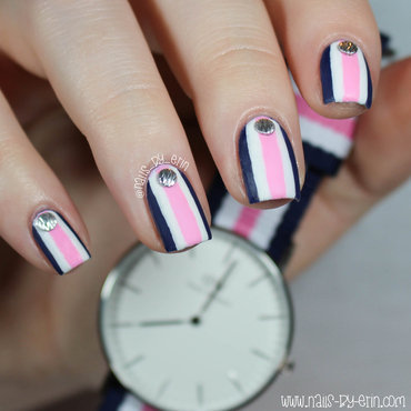 Navy 20and 20pink 20striped 20nails 20pic2 thumb370f