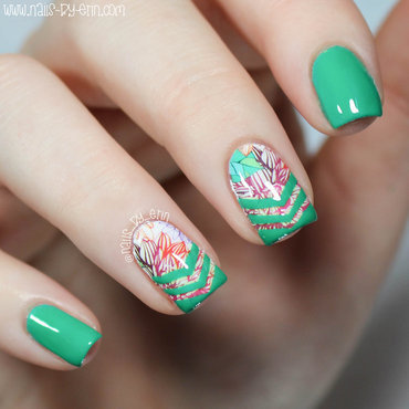 Green 20chevron 20 26 20decal 20nails 20pic3 thumb370f