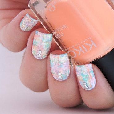 Studded nails nail art by Marine Loves Polish