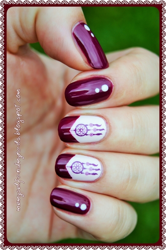 Dream Catchers nail art by ELIZA OK-W