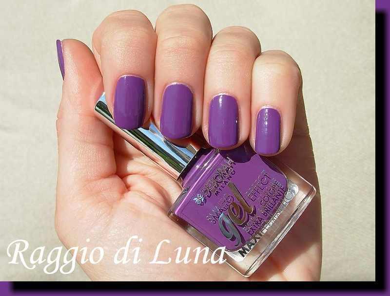 Deborah Gel Effect n° 43 Gothic Violet Swatch by Tanja