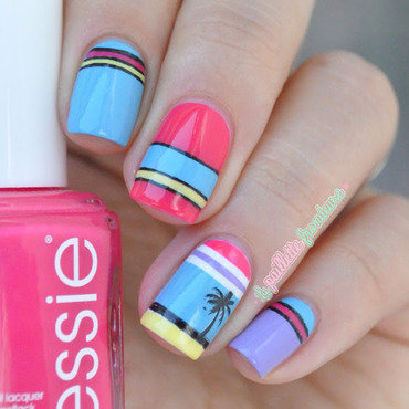 Miami 20beach 20striped 20palm 20tree 20nailart 202 thumb370f