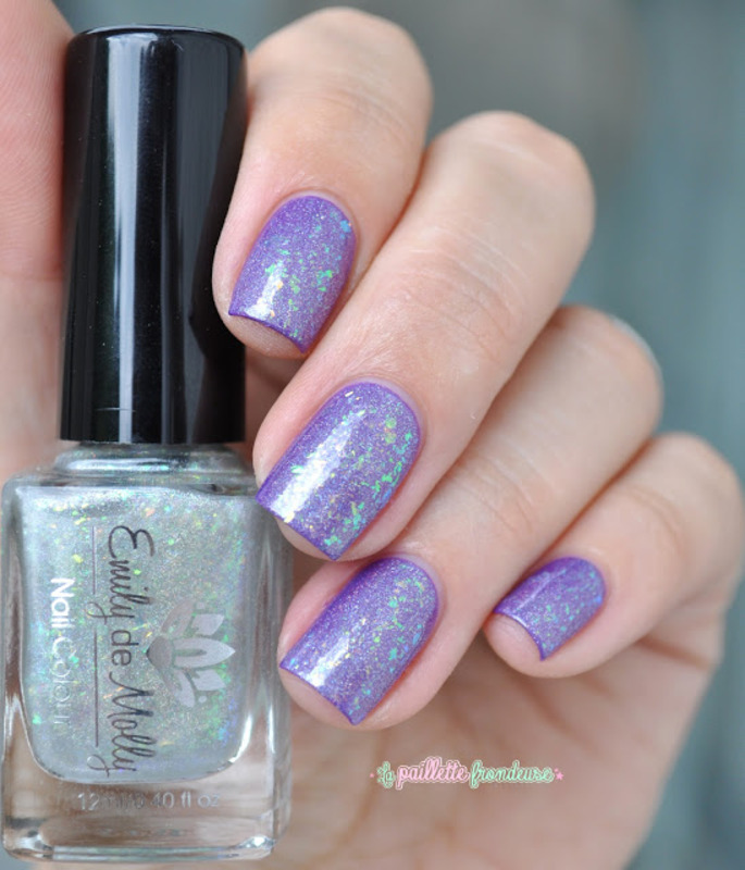 Emily De Molly fancy sauce Swatch by nathalie lapaillettefrondeuse