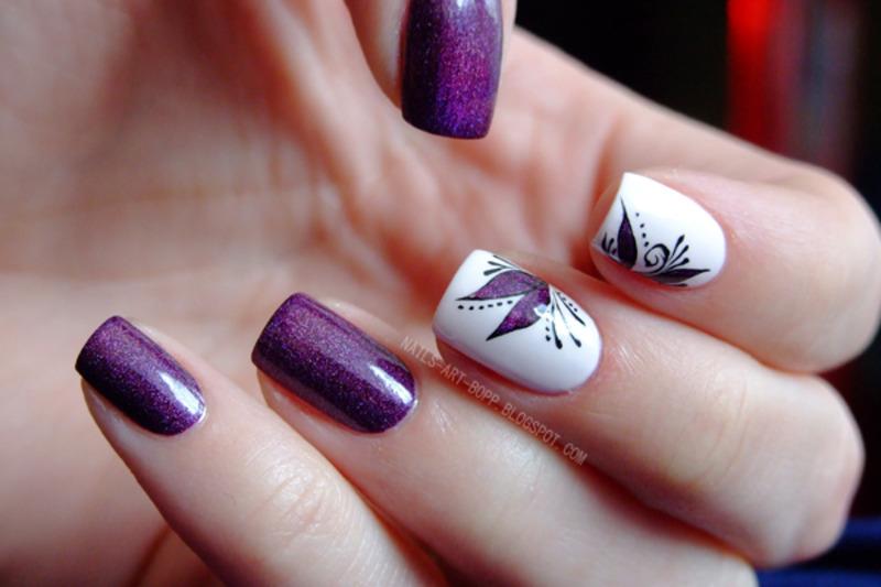 Figa and fiji  nail art by bopp