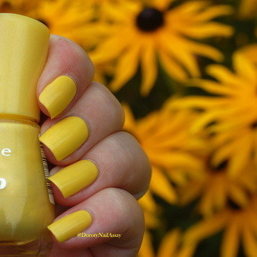 Essence Wanna be Your Sunshine Swatch by Dorothy NailAssay