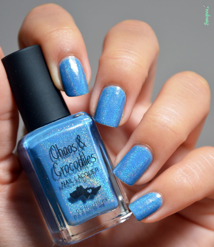 Chaos & Crocodiles there's magic in the air Swatch by Sweapee