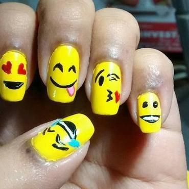 Adding Emotions to Life..!!! nail art by Sohini  Sengupta