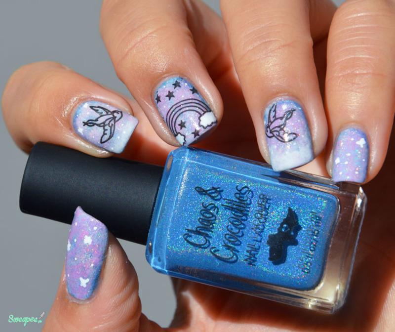 Magic in the air  nail art by Sweapee