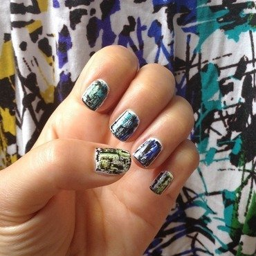 Art Gallery nail art by Idreaminpolish