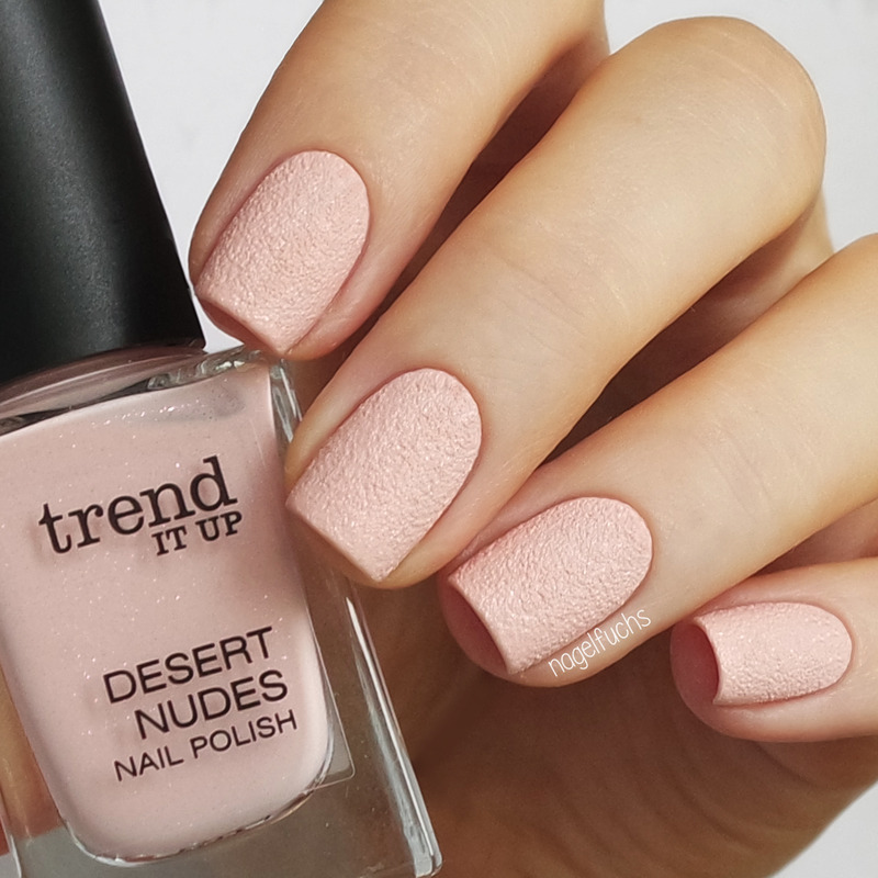 Trend It Up Desert Nudes 010 Swatch by nagelfuchs - Nailpolis ...