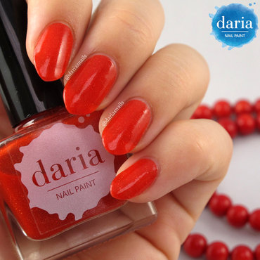 daria NAIL PAINT Hot Sun Swatch by Daria B.