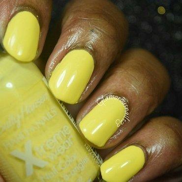 Sally Hansen Xtreme Wear Mellow Yellow Swatch by glamorousnails23