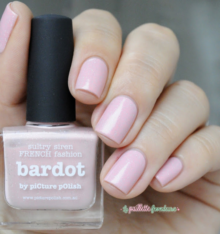 piCture pOlish Bardot Swatch by nathalie lapaillettefrondeuse
